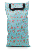 Buttons Cloth Nappies Waterproof Washable Reusable Zippered Laundry Wet Bag (Large, Afternoon Tea) by Buttons Nappies