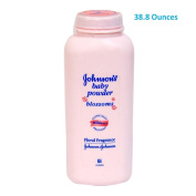 (1150ml TOTAL Sent in Multi-Bottles) Johnson's Baby Powder BLOSSOMS Scent. Dermatologist Tested to be hypoallergenic. Clinically proven to soothe the skin, and absorb moisture.