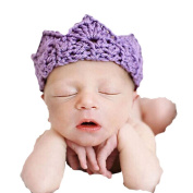 Little Kiddo Infant Newborn Baby Hand-made Knit Crochet Headband Photography Accessory Prop