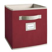 Martha Stewart Living 25cm - 1.3cm . x 28cm . Barn Red Fabric Drawer