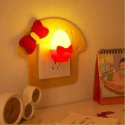Novelty Golden Egg Shaped Wall Light Sensor Control LED Lamp Night Lights Induction Lovely Nightlight AC10-220V Children Gift ,Lighting For Baby Boy Nursery