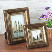 Picture Frame Resin Gold Glorious Years Tabletop Picture Photo Frame For Wedding Gift Home Decor 1 Pcs