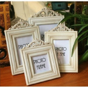 Picture Frame Wood France Vintage Tabletop Picture Photo Frame For Wedding Gift Home Decor 1 Pcs