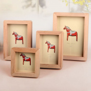 Picture Frame Modern Wood Brown Creative Home Decor Nursery Decor 1 Pcs