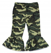 Camouflage Dress Green Camo Cotton Pants Trousers Unisex Baby Clothing Nb-18m