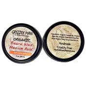 Grizzly Man Organic Beard Wax - Serenity