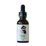 REAL BEARDED MEN 100% Natural Premium Beard Oil 30ml - Nature's Breeze