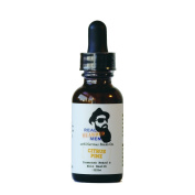 REAL BEARDED MEN 100% Natural Premium Beard Oil 30ml - Citrus Pine