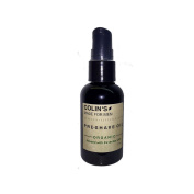 Organic Botanical Pre-Shave Oil helps soften the beard for a clean, ouchless shave.