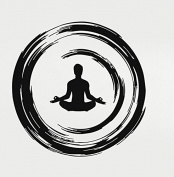 Yoga Buddhist Meditation Enso Circle Rubber Stamps custom stamps rubber