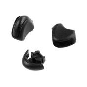 "10pcs 5/64"" (2mm) Black Plastic Zipper Pull Cord Ends Lock Stopper for Paracord FLC118-B"