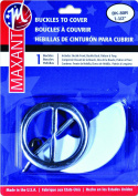 Maxant Covered Belt Buckle Kit and 110cm of Belting