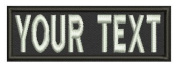 7.6cm / Custom Name Tape w hook and loop backing / Personalised Military Name Tapes, Tactical