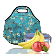 Lunch Tote, OFEILY Lunch boxes Lunch bags with Fine Neoprene Material Waterproof Picnic Lunch Bag Mom Bag
