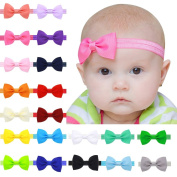 Xife® Baby Headbands Girl's Stretch Head Wear Infant Head Wear with Bow