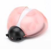 [Voice & Light Sensor] Baby Night Light,Beeuto Plug in Wall Led Ladybug Toddler Nightlight Bedside Led Light Pink