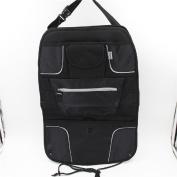 Topda123-Creative for Better quality Elegant life car seat organiser auto seat back organiser multi-pocket travel storage bag and Kick Mat