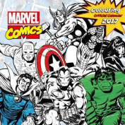 Marvel (Colouring in) Official 2017