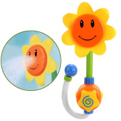 Arshiner Sunflower Baby Bath Toys,Sunflower Shower Spray Bath Play Toys