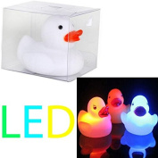 COLOUR CHANGING RUBBER DUCKS FUN KIDS BATH TOY NEW BABY DUCK LED LIGHT LAMP GIFT