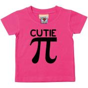 Bullshirt's Cutie Pi Short Sleeve Baby/Toddler T-Shirt