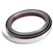 VORCOOL Car Decorative Chrome Moulding Trim Strip Silver Tone 3M*21mm