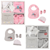 Costanzo Enrico Designer 3 Piece Baby Gift Set For Boys and Girls