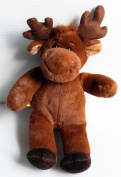 Build A Bear Workshop Furry Friends 28cm Hal Moose Plush Doll by Build A Bear Workshop
