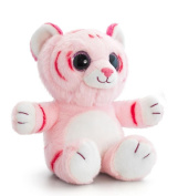 25cm Pink Sparkle Eyes Wild Tiger