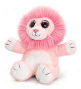 25cm Pink Sparkle Eyes Wild Lion