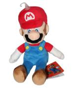 Official Nintendo Super Mario Bros. 20cm Mario Plush Soft Toy Figure by Sanei