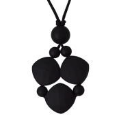 Emma in Black - Num Num Teething Jewellery