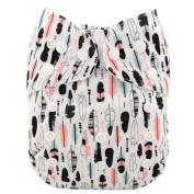 SSstar Washable Onesize Reusable Pocket Cloth Nappy Nappy With 2 pcs Insert each