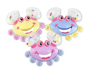 Saver Crab Jingle Handbell Shaking Musical Instrument Toy For Baby Kids