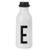 Design Letters AJ Water Bottle with letter - E