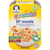 Gerber Graduates Lil Meals, Rice, Sweet Potato, Carrot and Chicken, 180ml, 6 Count
