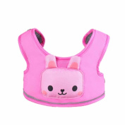 Candoran 3 in 1 Toddler Belt Walking Safety Harness Portable High Chair Cart Safety Strap learning Assistant Cartoon Baby Cartoon Animal learning Walkers