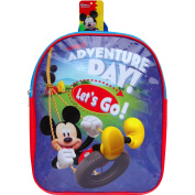 Disney Mickey Mouse Adventure Day School Travel Backpack Bag
