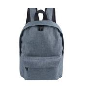 Buzzycoser Boys & Girls Grey Travel SchoolBag Rucksack Student Outdoor Bag Backpack