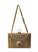 Antique Round Clutch by Meera Mahadevia