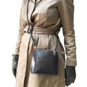 Italian Leather Handbag Cross Body with Shoulder Strap