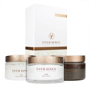 Ever Since Spa Trio - Dead Sea Mud 500gr + Salt Scrub 250ml + Body Cream 200ml