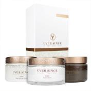 Ever Since Spa Trio - Dead Sea Mud 500gr + Salt Scrub 250ml + Body Cream 200ml
