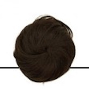 sublim' Bun Hair Look Concealed Screws Dark Brown