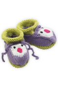 Joobles Fair Trade Organic Baby Booties - Icy the Penguin