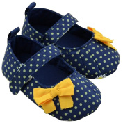 Baby Girls Toddler Soft Sole Bow Mary-jane First Walking Shoes