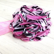 Tiger Hair Band Fuhsia. Froufrou Baby/Child