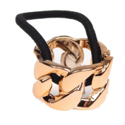 Just Fox Hair Ring Curb Chain Design in 4 Different Colours