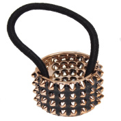 Just Fox Spiked Hair Band in White and Black