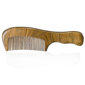 VALUE MAKERS Green Ebony Combs-Sandal Wooden Comb-Anti-static Comb -Handle- Comb-Handmade Combs-Moustache Wood Comb-Gifts Comb